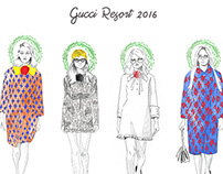 Gucci Resort 2016 series