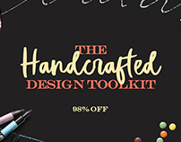 The Handcrafted Design Toolkit: Fonts and Graphics Only