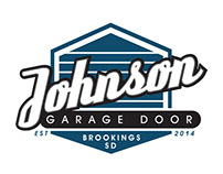 Johnson Garage Door Logo Design