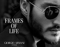 CAMPAIGN: GIORGIO ARMANI FRAMES OF LIFE 2014