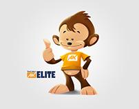 AK Elite Mascot and Web Design