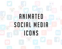 Social media icons [motion]