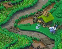 PuzzlePets Progression Map