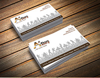 Business Card Design - A Sharp