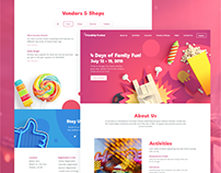 Friendship Festival | Web Design & Branding