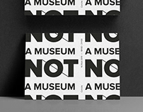 NOT A MUSEUM invitation