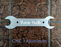 Aluminum CNCed Wrench