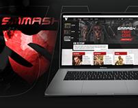 smmash.pl | Website redesign