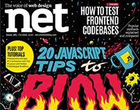 Net Magazine: Cover Design & Art Direction