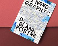 Need x Blank Poster O7.O5.2O17