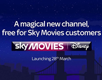 Sky Movies Disney - X-Track  and DOOH DEP
