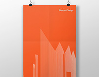 Architectural poster. Szczecin Philharmonic Hall.