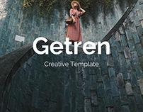 Getren Creative Powerpoint Template UPDATE VERSION 3.0