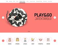 Yogo Play Landing page