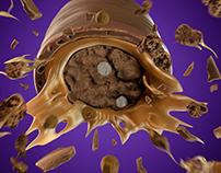 3D Chocolate Explotion
