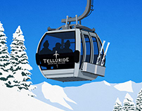 Telluride Ski Resort Poster