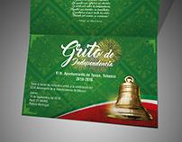 Invitación Grito de Independencia 2016