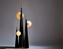 Floor lamps: Art & Guile