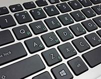 Ukrainian Keyboard Desing for Mass Production