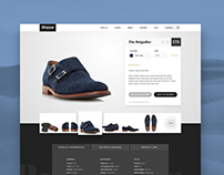 Concept: Dune product page re-design