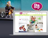 Dadum - e-commerce website