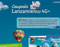Telefónica Movistar - Lanzamiento 4G+