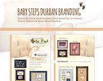 Baby Steps Durban Branding