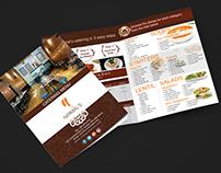 Nirmal Restaurant Menu Design