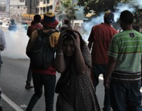 Protestas en Caracas, Venezuela 6 de abril de 2017