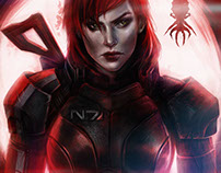 N7 Day Shepard Mass Effect