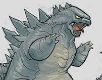 Cute Kaiju