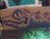 100 Tokay geckos
