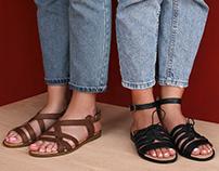Sandal marketing retouching