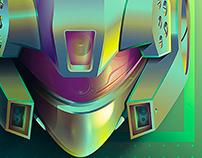 Retro 90s Robots