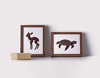 Wild Illustration Series