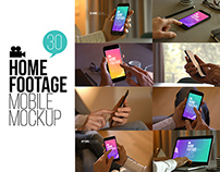 Home Footage Mobile Mockup