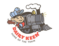 Dairy Keen 50th Anniversary Re-brand.