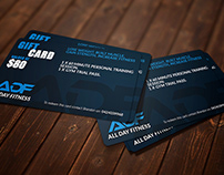 Gift Card (All Day Fitness)