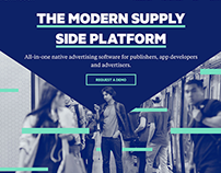 Website Redesign for Adtech Platform Sharethrough