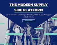Website Redesign for Adtech Platform Sharethrough