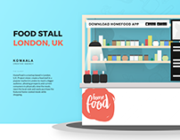 HomeFood, Food Stall in London