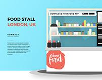 HomeFood, Food Stall in London