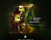 Dota Major Champions Social Media Artworks