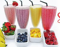 Cool Down With Smoothies