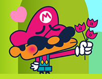 Mario & Bowsette!
