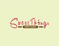 Sweet Things Home Baked | Branding