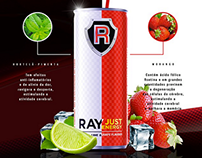Ray Just Energy Drink - Flavours