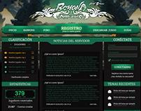 Beyond2 homepage design. www.btmt2.com