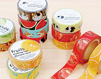 Paperable masking tape