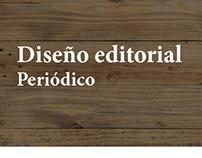 Diseño editorial. Periódico 'Te digo che'